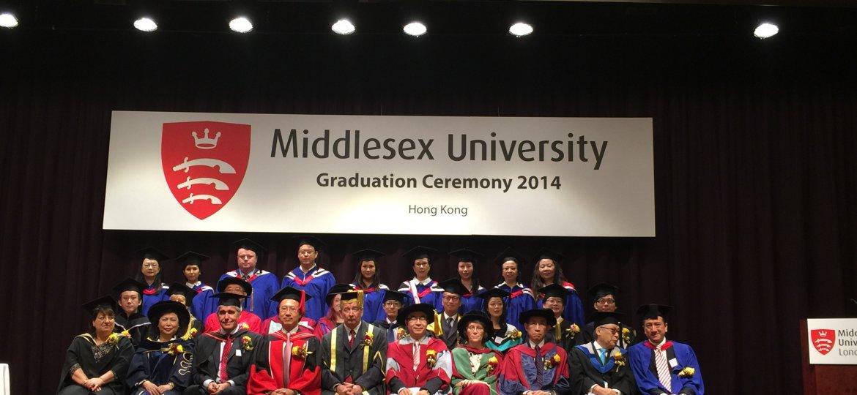 Middlesex University graduation 2014