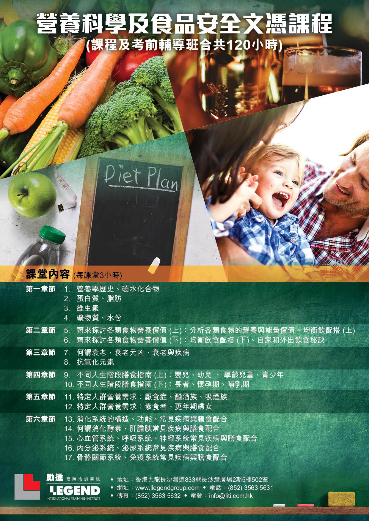 營養學課程